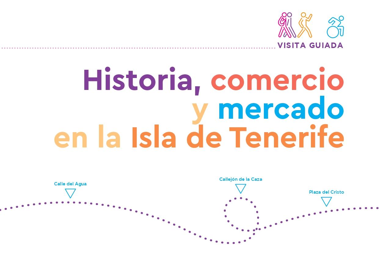 Portada de la Guía Historia, comercio y mercado en la Isla de Tenerife